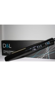 "D&L 1"" Titanium Straightening Irons with Digital Control"