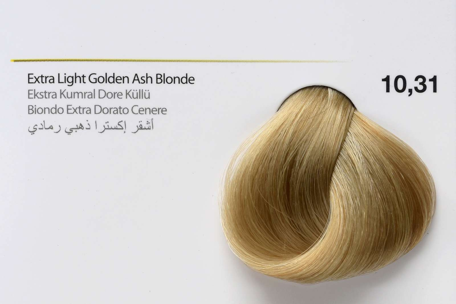 10,31 - Extra Light Golden Ash Blonde-swatch