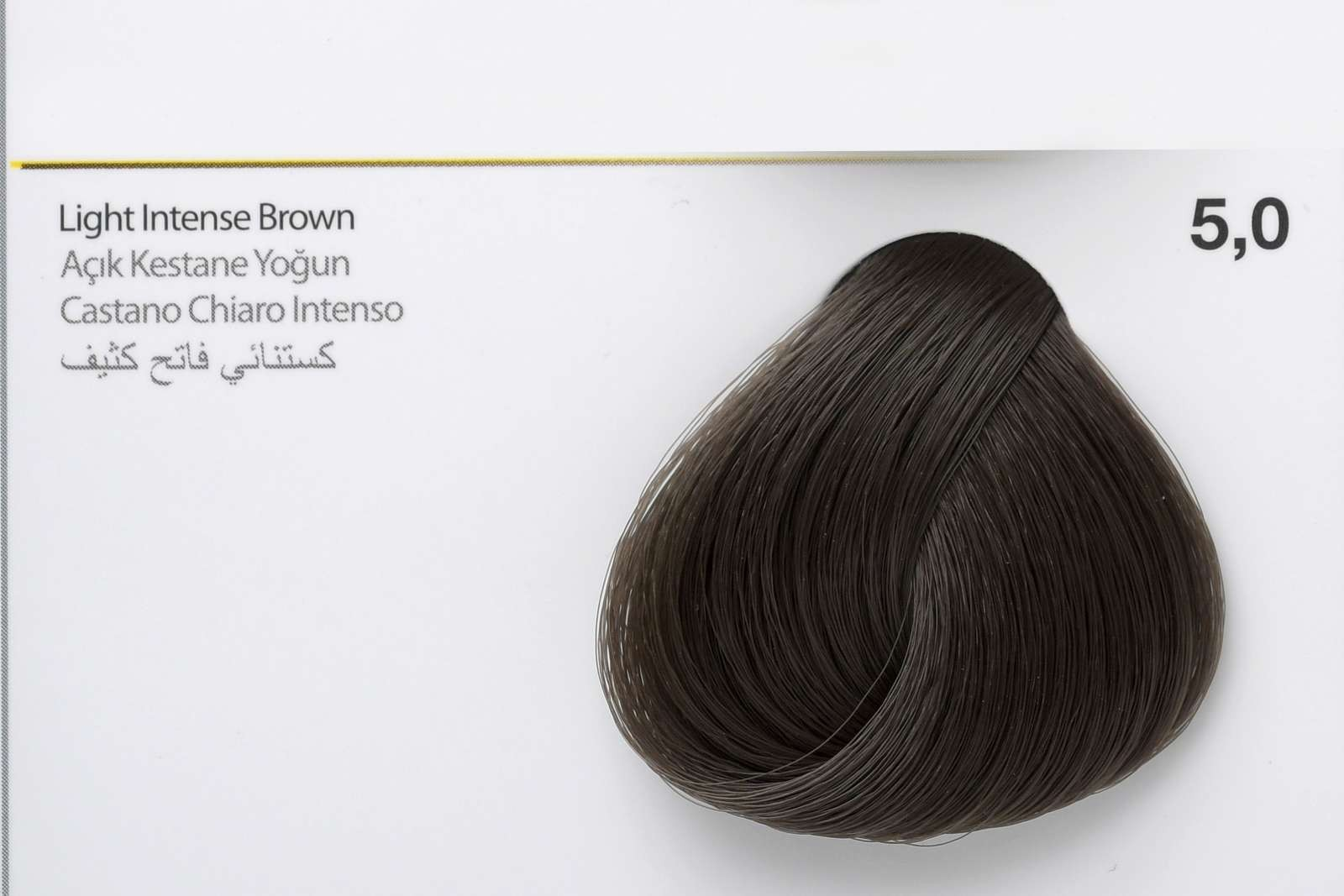 5,0 - Light Intense Brown-swatch