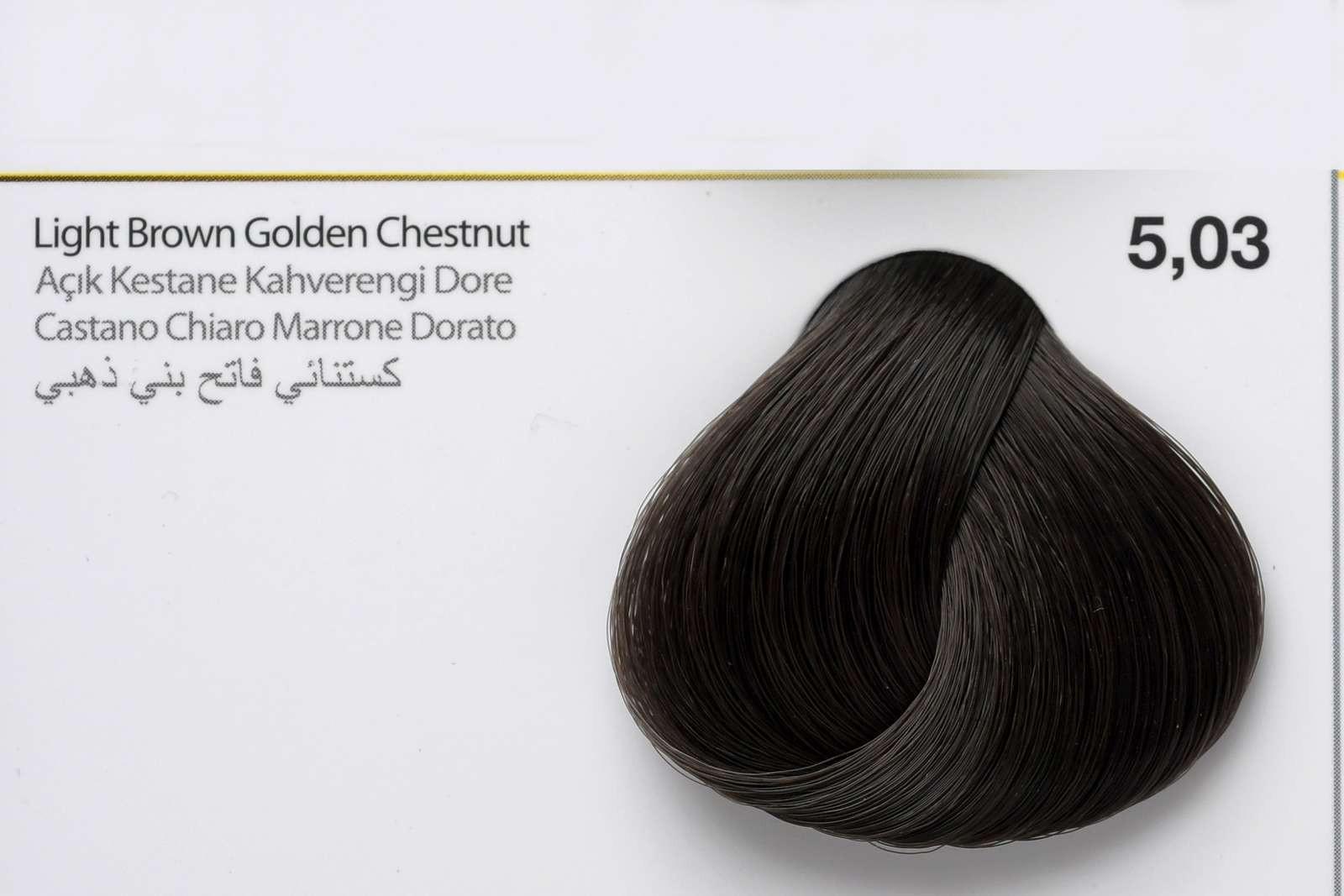 5,03 - Light Brown Golden Chestnut-swatch