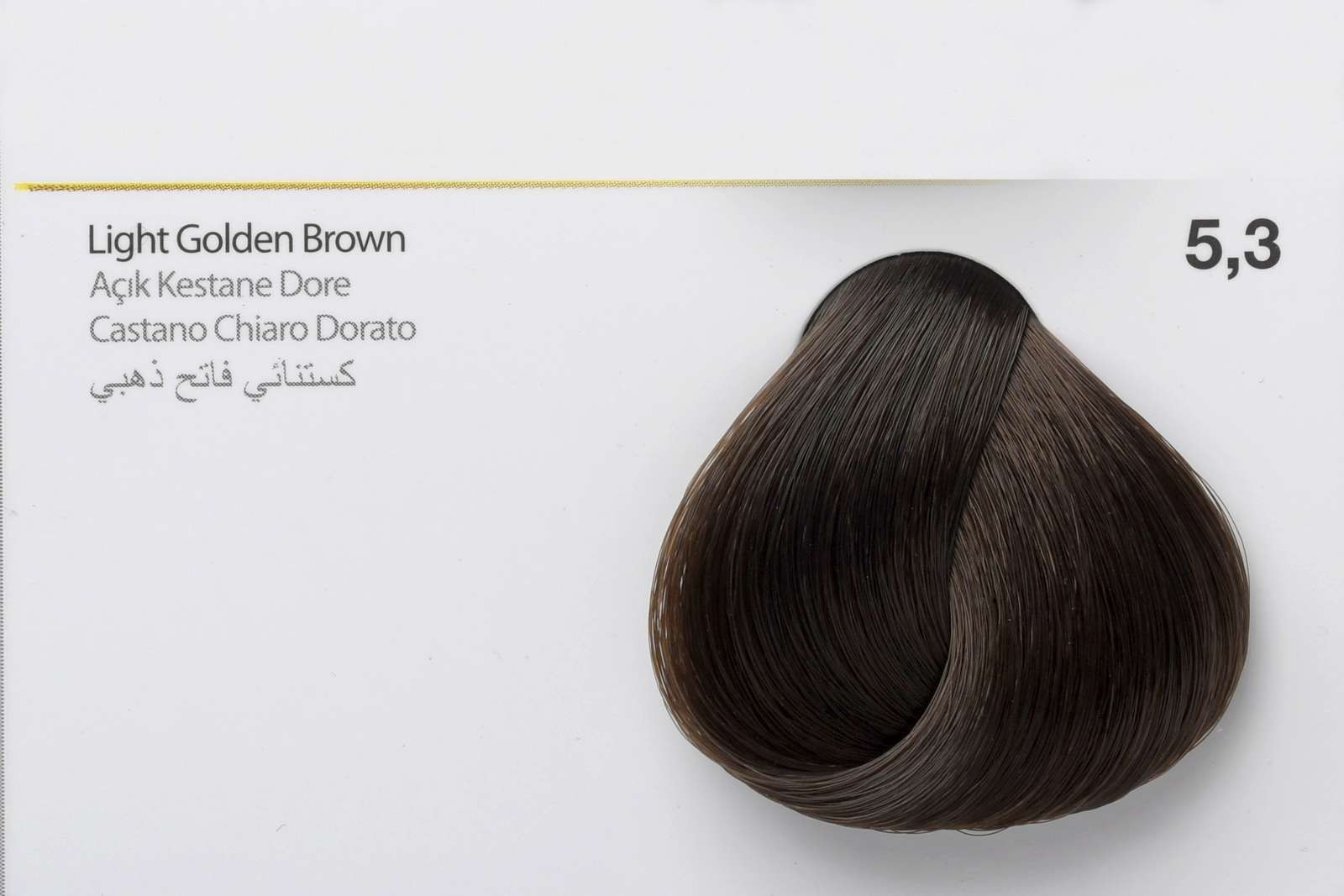 5,3 - Light Golden Brown