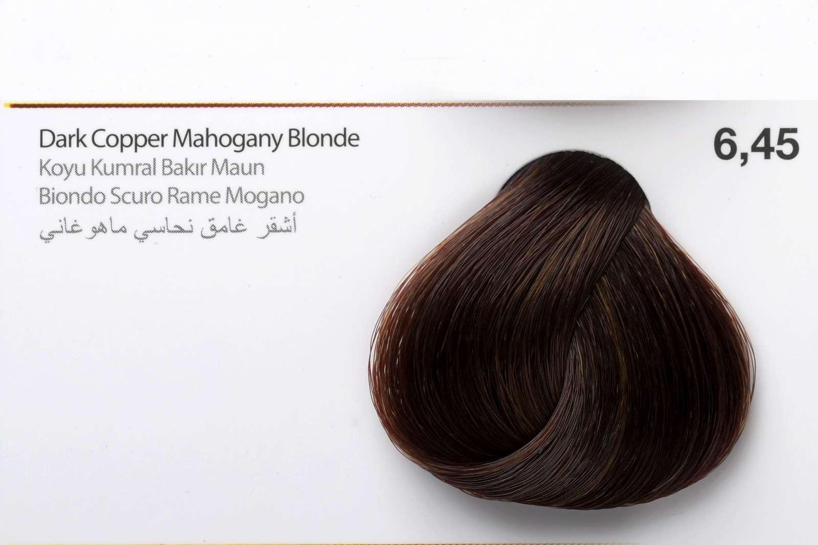 6,45 - Dark Copper Mahogany Blonde-swatch
