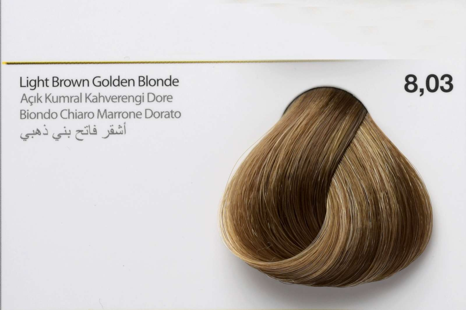 8,03 - Light Brown Golden Blonde-swatch