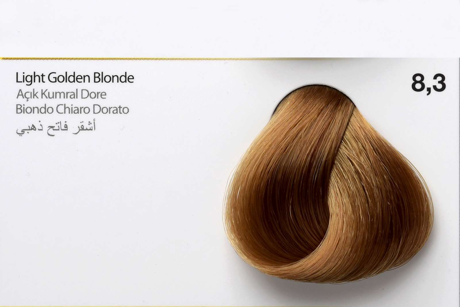 8,3 - Light Golden Blonde