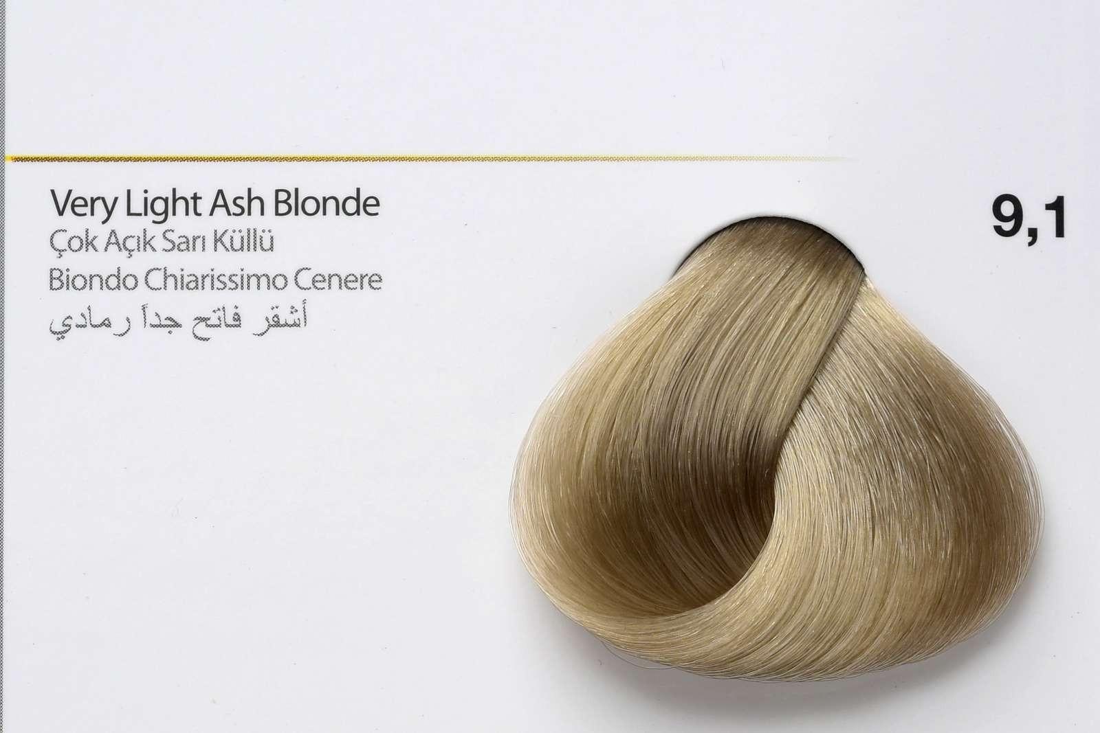 9,1 - Very Light Ash Blonde-swatch