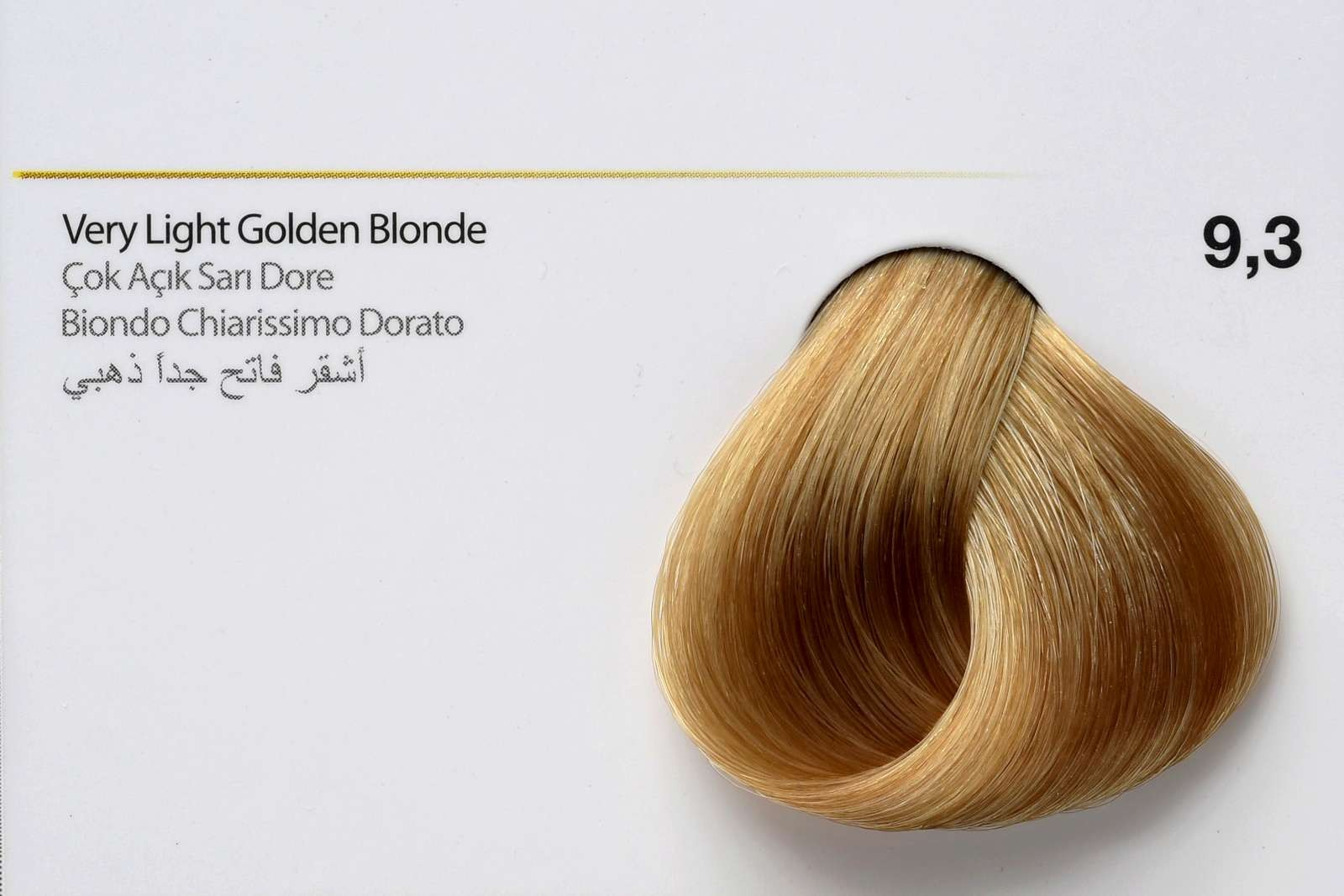 9,3 - Very Light Golden Blonde