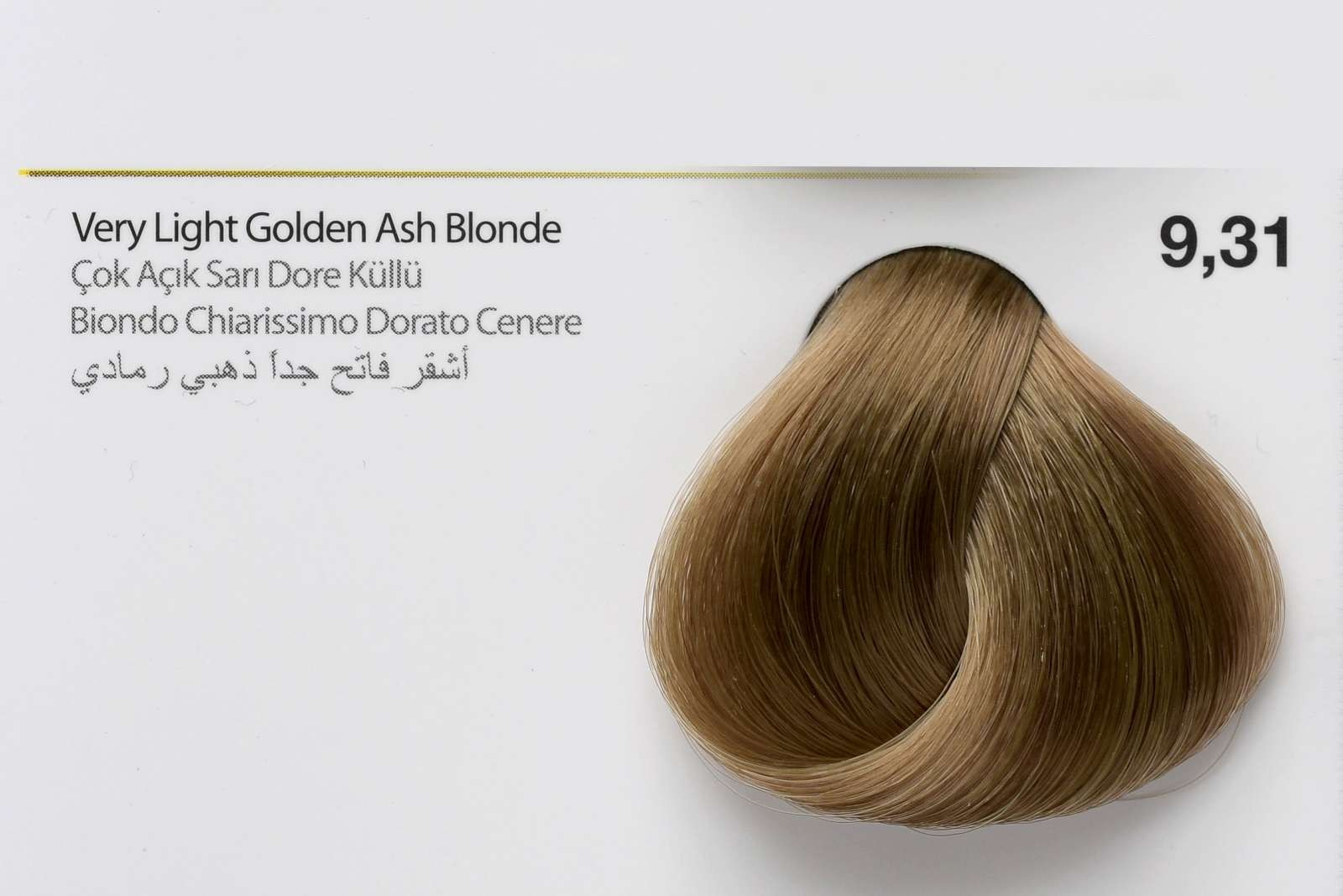 9,31 - Very Light Golden Ash Blonde-swatch