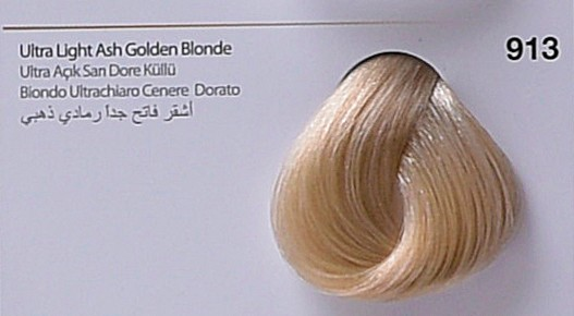 913 - Ultra Light Ash Golden Blonde-swatch
